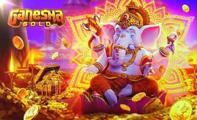 พระพิฆเนศทองคำพร้อมจะมอบโชคให้กับคุณใน Ganesha Gold