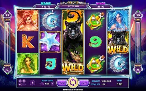 สล็อต wild fairies เกมแนวแฟนตาซีน่าเล่น