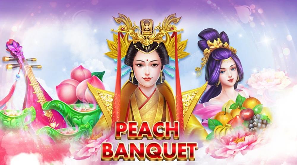 แนะนำเกม สล็อต peach banquet เกมแจกโบนัสบ่อย